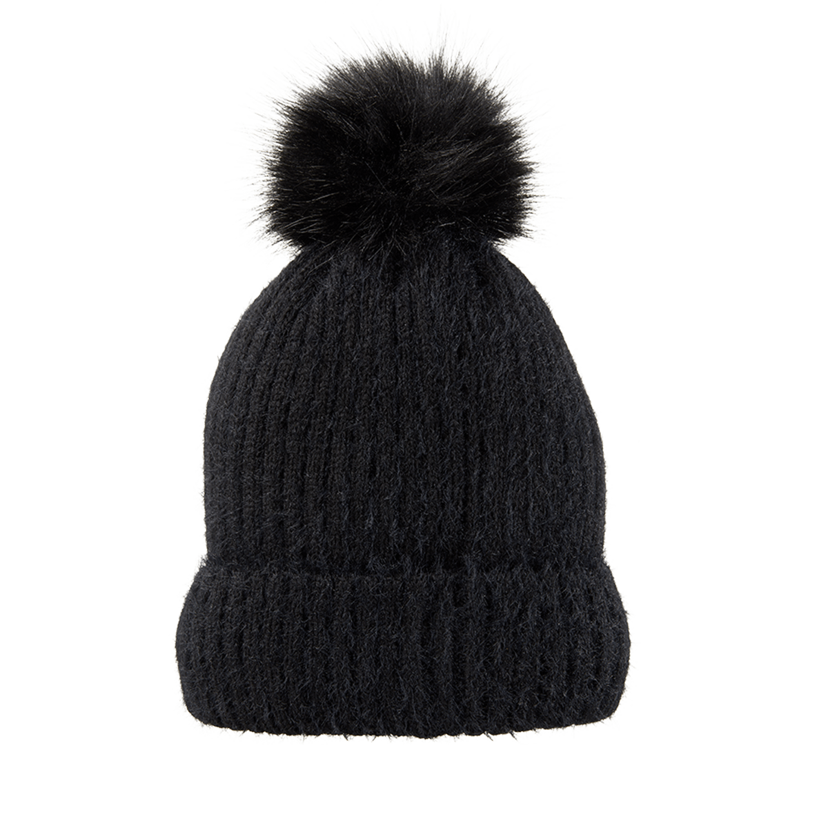 joe fresh beanie with black pom pom