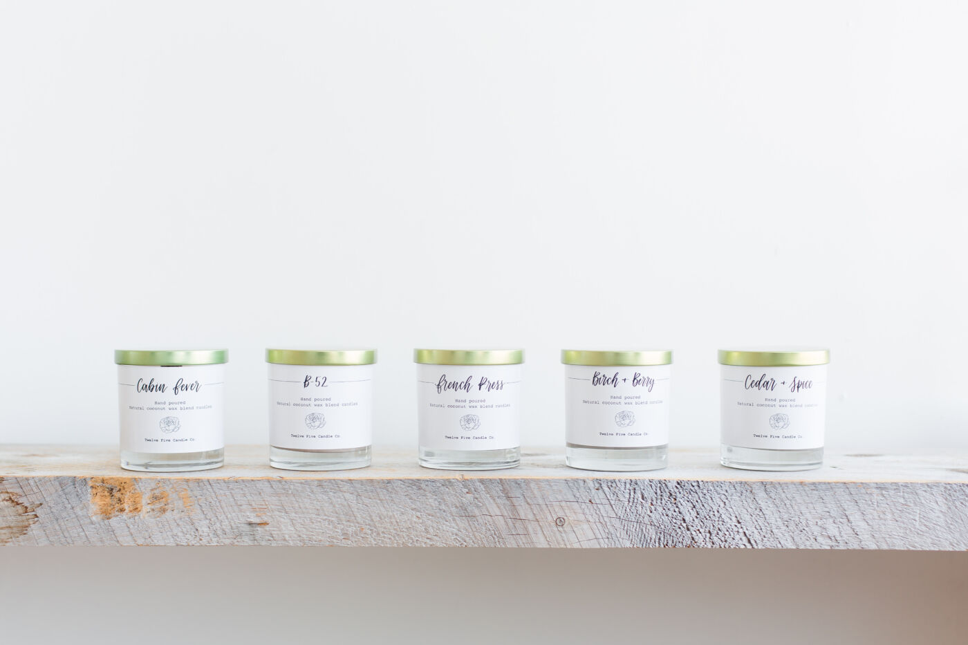 twelve five candle co. hand poured candles